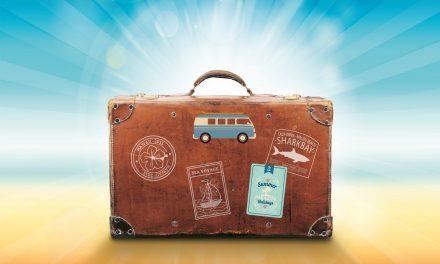 Naar huis met een extra boordevol koffertje.